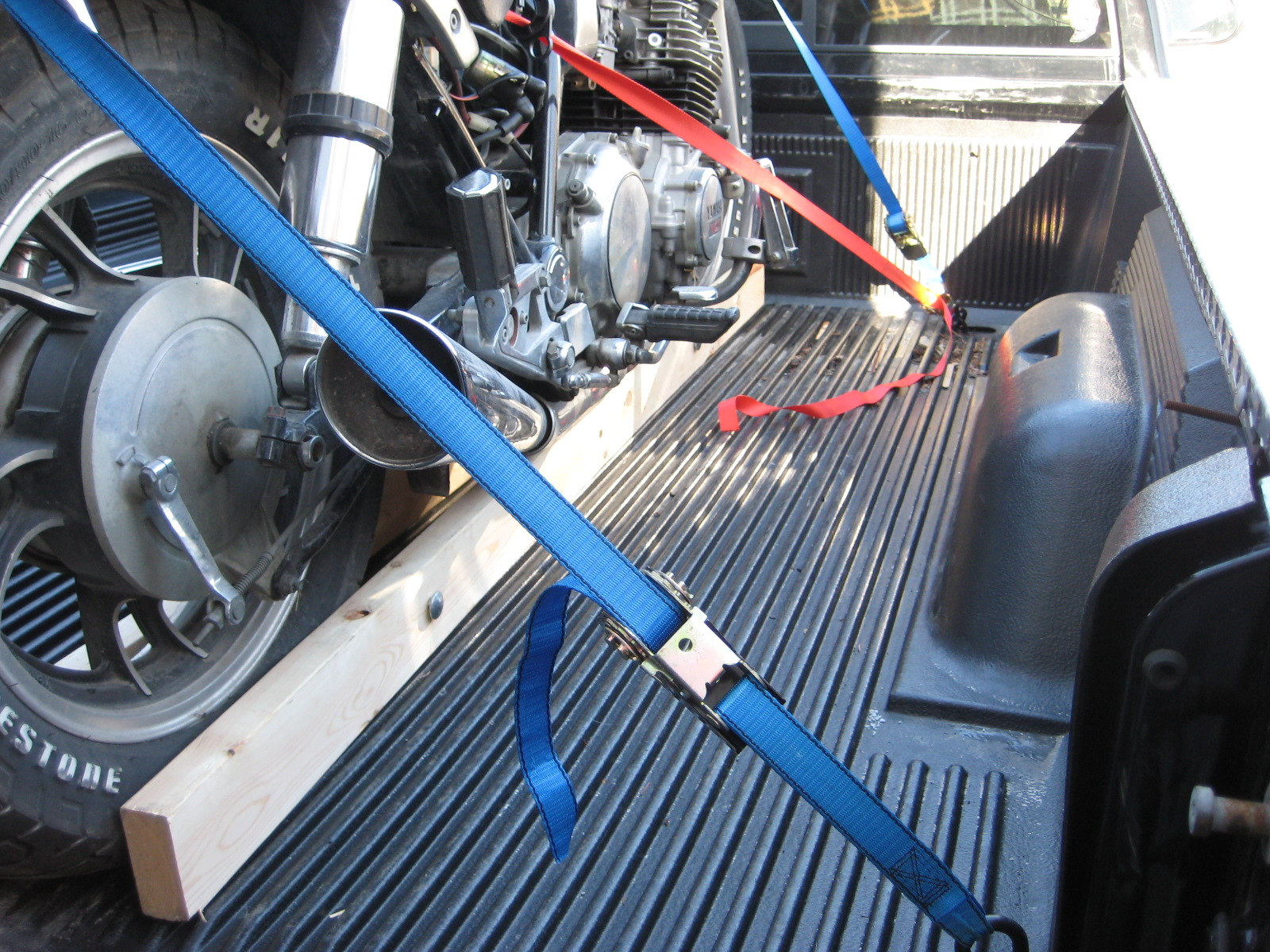 Motorcycle Tie Down For Truck Bed