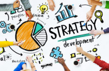Strategy Development Goal Marketing Vision Planning Concept