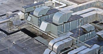 Heater on roof